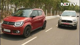 Maruti Suzuki Vitara Brezza AMT, Ignis vs Freestyle, Amaze & Yaris Launch - NDTV
