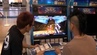 TGS 2012] BlazBlue ChronoPhantasma gameplay - YouTube