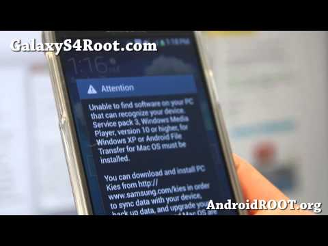 How to Root Galaxy S4 on Mac OSX!