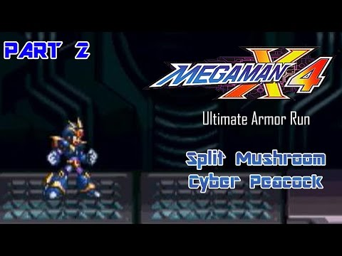 Mega Man X4 - Ultimate Armor Run Part 02 | Too Much Gaming