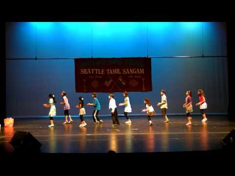 Kids Kolaveri Di - 2012 Seattle Tamil Sangam kids dance