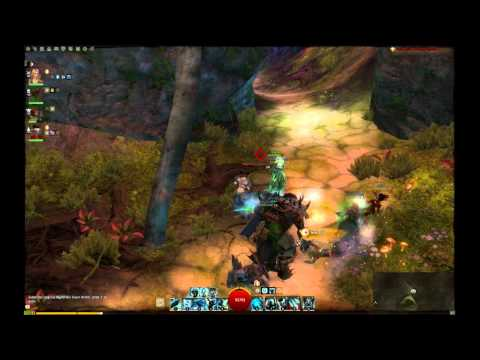 Guild Wars 2 Twilight Arbor footage