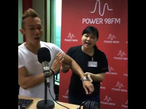 Kapap Academy Singapore featured on Power98 FM