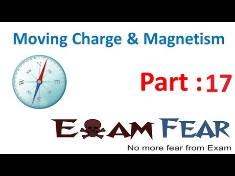 Physics Moving Charge & Magnetism part 17 (Magnetic field due to straight conductor) CBSE class 12
