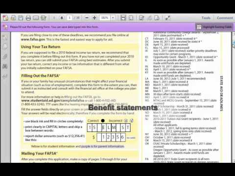 How to Fill out the FAFSA - Part 2 of 11