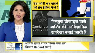 DNA: Facebook data scandal; Politics over what's being done with Facebook data - ZEENEWS