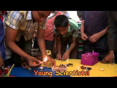 Resonance-Science Expo 2012@ Gurukul