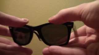 ray ban wayfarer ultra limited edition rb 2157 youtube rh youtube com