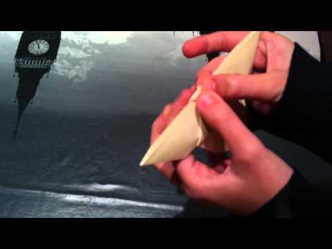 Papiroflexia: cómo hacer una mariposa de origami