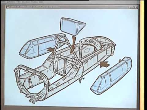 Técnica f1 - El Lotus 25, Chapman inventa el monocasco