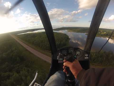 CAP-PELE helicopter flight with mosquito XE
