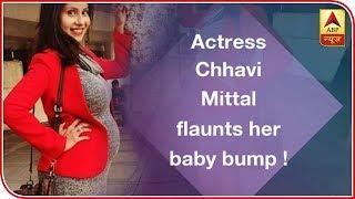 Actress Chhavi Mittal flaunts her baby bump ! - ABPNEWSTV
