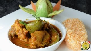 Chicken Brinjal Curry ..