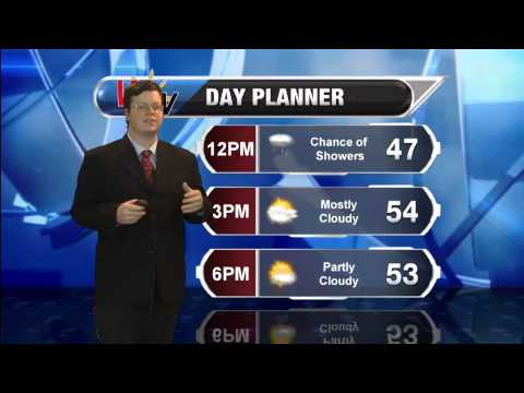Monday, March 30th, 2015, Morning Forecast