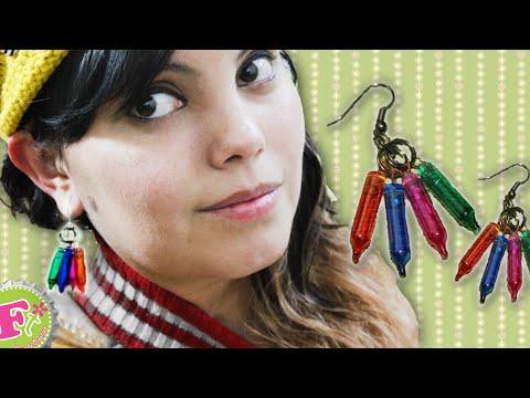 DIY: Aretes con Foquitos NAVIDEÑOS reales!