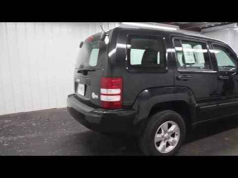 The KEY 2011 JEEP LIBERTY EXT BLACK INT BLACK