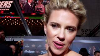 The Avengers – LA Premiere Cast Interviews