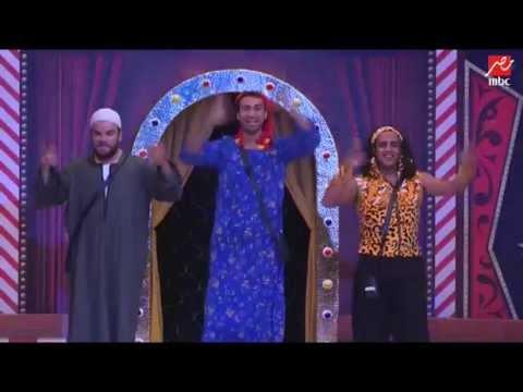 رقصة مجنونة من الثلاثي الكوميدي على مسرح مصر - عرب توداي
