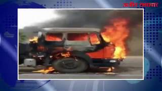 video : रेवाड़ी में दिल्ली-जयपुर हाइवे पर खड़े ट्राले में लगी आग