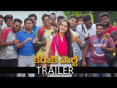 Kirrak Party Movie Trailer,Nikhil Siddharth, Samyuktha, Simran Pareenja | Sharan Koppisetty