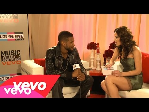 Usher - 2010 Backstage Interview (American Music Awards)