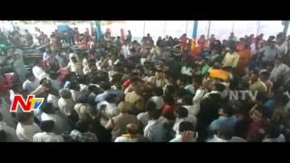 Fight Between TDP & Congress in Kuppam    Chittoor    NTV - NTVTELUGUHD