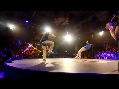Red Bull BC One 2012 - Western European Qualifier - 1st round - Lee vs Rawmantic