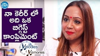 Biggest Compliment In My Career - Bhargavi Pillai || Melodies And Memories - IDREAMMOVIES