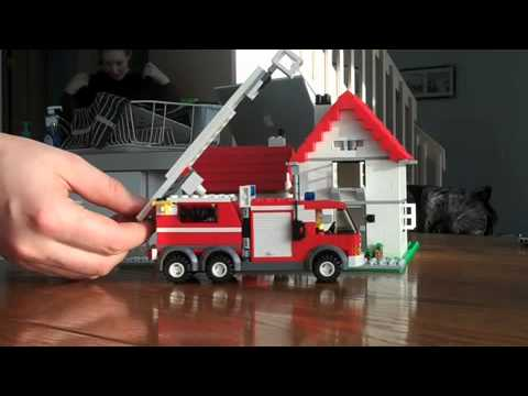 Fire in Lego Land