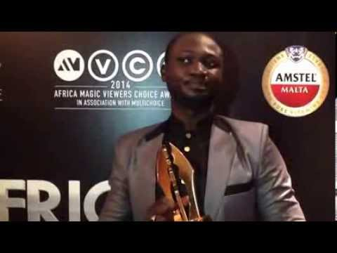 AMVCAs -- Habib wins Best Indigenous Language Movie/ Series (Hausa)