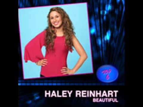 Haley Reinhart - Beautiful - Top 6 - Studio Recording