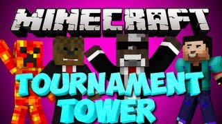 Minecraft NEW TOURNAMENT TOWER w/ JeromeASF and MORE