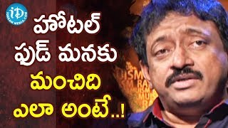 Director Ram Gopal Varma To Share Food Eating Tips - Ramuism 2nd Dose - IDREAMMOVIES