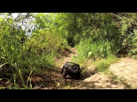 Axial SCX10 Jeep Wrangler Rubicon Rocky Trail Ride