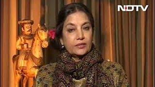 Padmavati Row A Failure Of Government, Political Strategy: Shabana Azmi - NDTV
