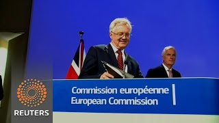 Little progress in E.U.-Britain Brexit talks - REUTERSVIDEO