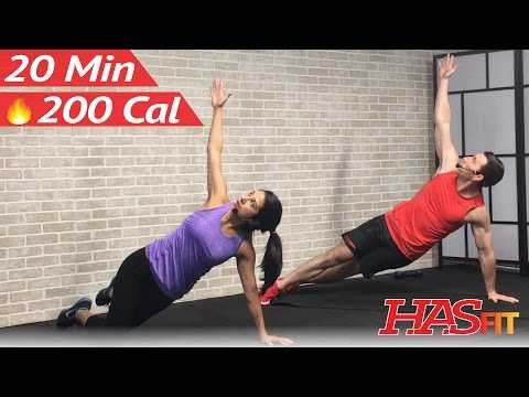 20 Min Advanced Ab Workout for Women & Men - 20 Minute Abs Workout at Home Abdominal Exercises