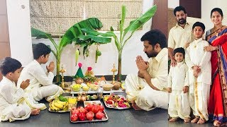 Actor Siva Balaji Vinayaka Chavithi Celebrations | Tollywood Updates - RAJSHRITELUGU