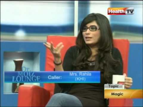 ''Dr Moiz Lounge'' Topic : MAGIC part-1/4 (11-SEP-12) Health TV