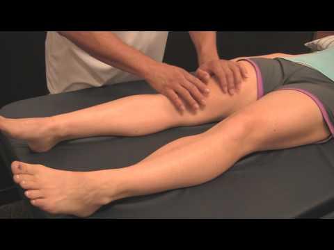 Sports Massage Demo 1: Quads- Improve Leg Muscle Performance, Athletic Tune-Up Austin