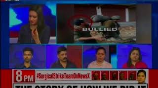 Stone pelters yet again attacked the CRPF, a group of men allegedly restored to stone pelting - NEWSXLIVE