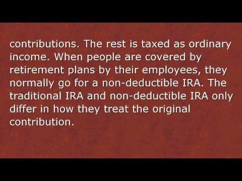 IRA Account Types and The Different Types Of