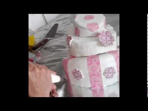 Pastel Chueco + Obleas de Azúcar + Impresión Comestible + Candy Ink+1.flv