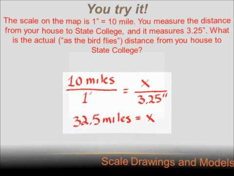 Number Sense - Scale Drawings: 7th grade math