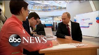 Russian presidential election underway as tensions rise with UK, US - ABCNEWS