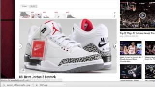 Jordan Memorial Day Weekend Restock - Bred 11s, Cement 3s, Thunder 4s