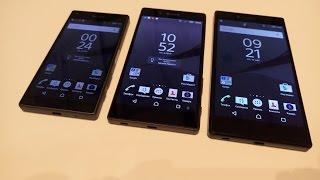 Sony Z5 обычный, compact и premium из первых рук на IFA2015