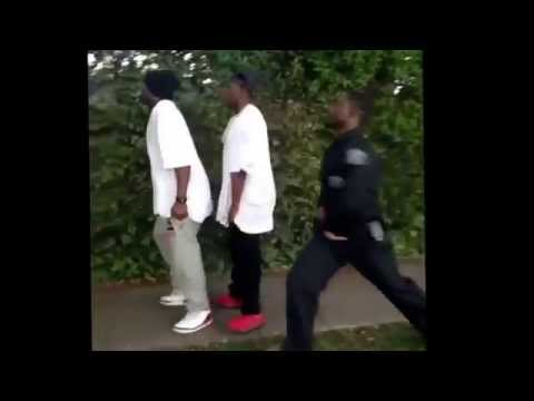 You cant outrun a cop sagging