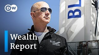 Wealth report: 26 richest people own as much as poorest 50% | DW News - DEUTSCHEWELLEENGLISH