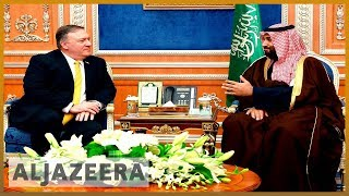 🇺🇸 🇸🇦 US secretary of state expected to discuss blockade in Saudi visit l Al Jazeera English - ALJAZEERAENGLISH